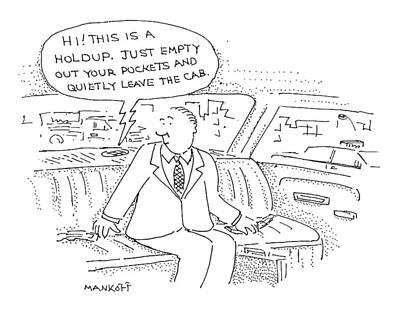 New Yorker December 28th, 1998 Art Print by Robert Mankoff