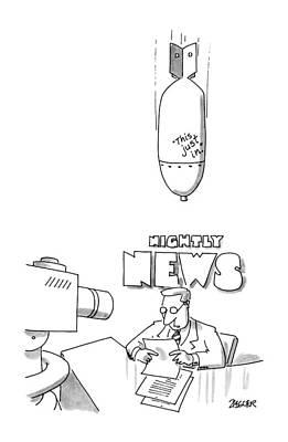 New Yorker December 2nd, 1991 Art Print