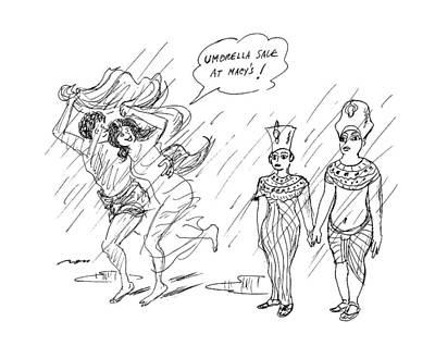 Art Ross Drawing - New Yorker December 30th, 1991 by Al Ross