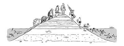 New Yorker December 31st, 1955 Art Print