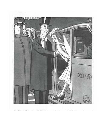 New Yorker December 4th, 1943 Art Print