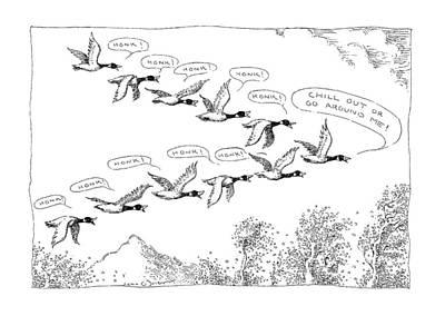 New Yorker December 7th, 1992 Art Print