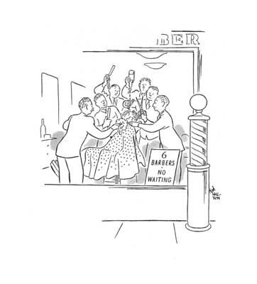 New Yorker February 10th, 1940 Art Print