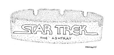 Star Trek Drawing - New Yorker February 11th, 1980 by Robert Mankoff