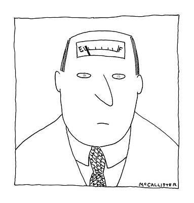 Incompetent Drawing - New Yorker February 12th, 1990 by Richard McCallister