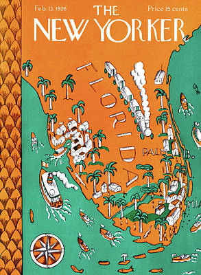 New Yorker February 13th, 1926 Art Print