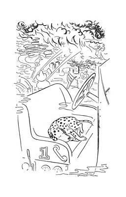 New Yorker February 13th, 1943 Art Print