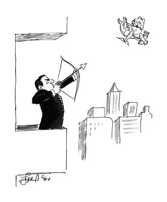 Drawing - New Yorker February 13th, 1995 by Edward Frascino