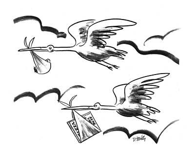 New Yorker February 15th, 1993 Art Print