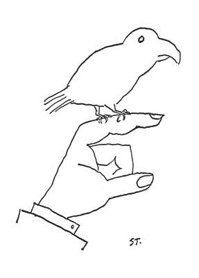 February 16th Drawing - New Yorker February 16th, 1957 by Saul Steinberg
