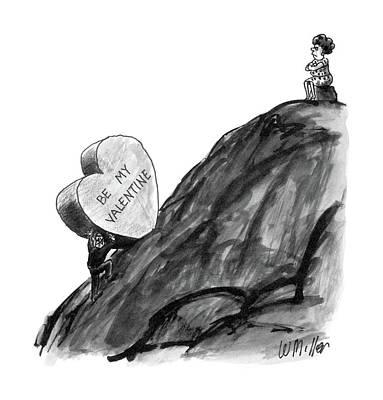 New Yorker February 16th, 1987 Art Print by Warren Miller