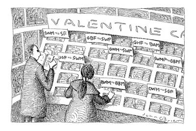 February 16th Drawing - New Yorker February 16th, 1998 by John O'Brien