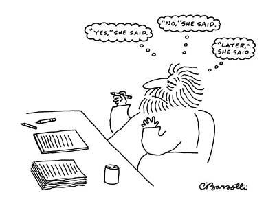 New Yorker February 17th, 1986 Art Print