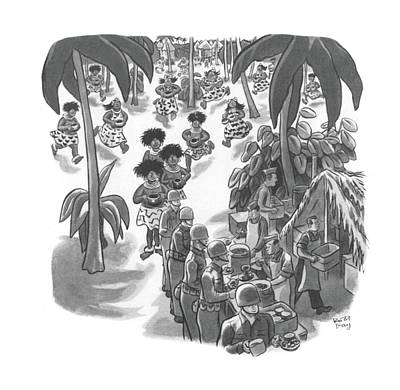 New Yorker February 20th, 1943 Art Print by Robert J. Day