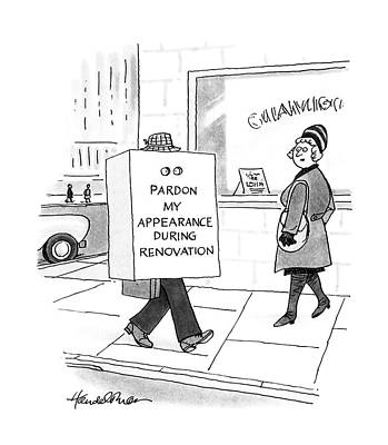 New Yorker February 22nd, 1988 Art Print by J.B. Handelsman