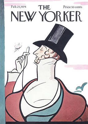 New Yorker February 25th, 1974 Art Print by Rea Irvin