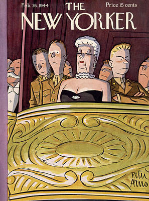 Peter Painting - New Yorker February 26th, 1944 by Peter Arno