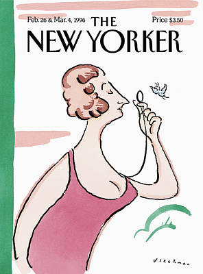 Painting - New Yorker February 26th, 1996 by R O Blechman