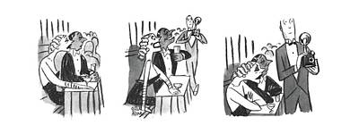 Drawing - New Yorker February 3rd, 1940 by Peter Arno
