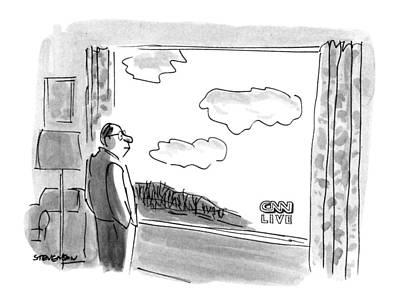 New Yorker February 4th, 1991 Art Print