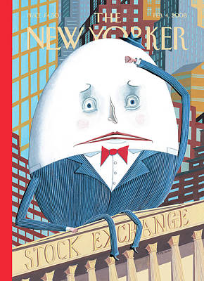 New Yorker February 4th, 2008 Art Print