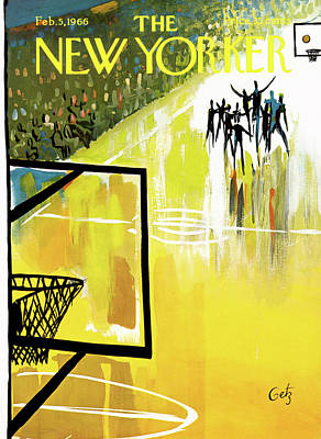 New Yorker February 5th, 1966 Art Print by Arthur Getz