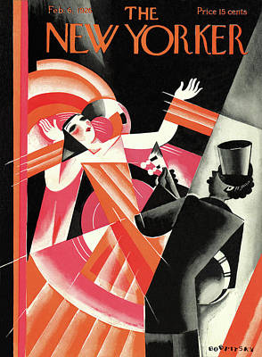Painting - New Yorker February 6th, 1926 by Victor Bobritsky
