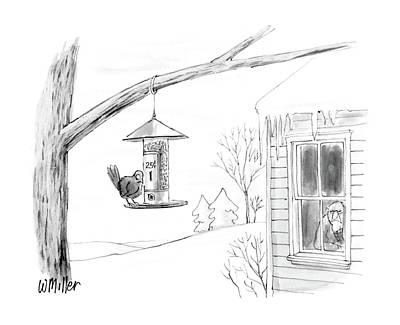 New Yorker February 8th, 1988 Art Print by Warren Miller