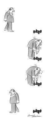 New Yorker February 9th, 1987 Art Print by Bernard Schoenbaum