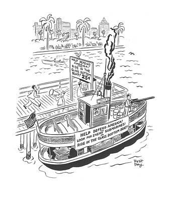New Yorker January 10th, 1942 Art Print by Robert J. Day