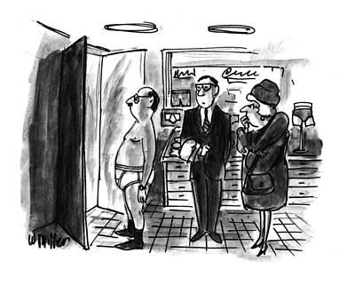 New Yorker January 11th, 1993 Art Print by Warren Miller