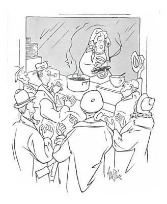 New Yorker January 15th, 1944 Art Print