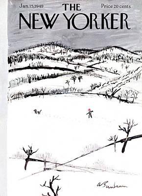 New Yorker January 15th, 1949 Art Print