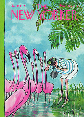 New Yorker January 15th, 1972 Art Print