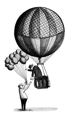 New Yorker January 18th, 1964 Art Print