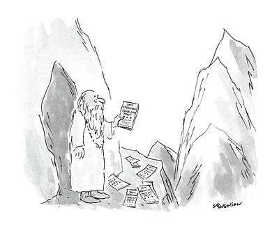 New Yorker January 18th, 1988 Art Print