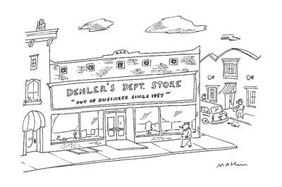 New Yorker January 18th, 1988 Art Print by Michael Maslin