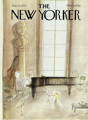 New Yorker January 22nd, 1979 Art Print by Jean-Jacques Sempe