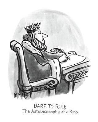 New Yorker January 27th, 1986 Art Print by Warren Miller