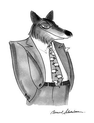 New Yorker January 27th, 1992 Art Print by Bernard Schoenbaum