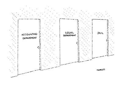 New Yorker January 28th, 1985 Art Print by Robert Mankoff