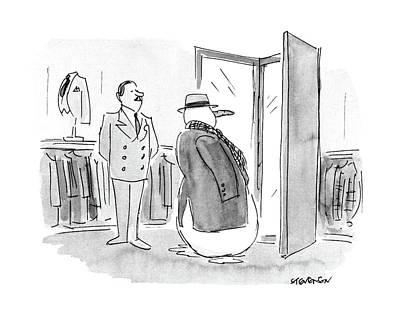 New Yorker January 4th, 1988 Art Print by James Stevenson