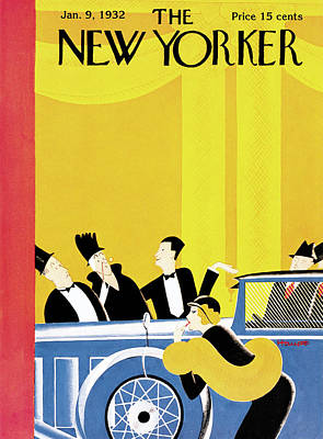1932 Painting - New Yorker January 9th, 1932 by Theodore G. Haupt