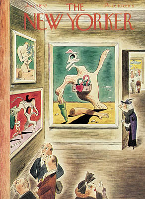 Dali Painting - New Yorker January 9th, 1937 by Richard Taylor