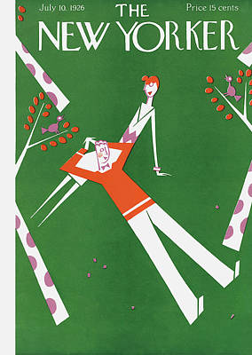 Polkadots Painting - New Yorker July 10th, 1926 by Julian de Miskey