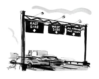 1969 Drawing - New Yorker July 12th, 1969 by Donald Reilly