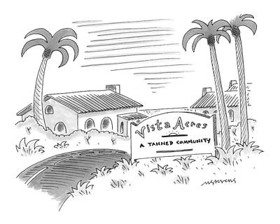 Development Drawing - New Yorker July 12th, 1999 by Mick Stevens
