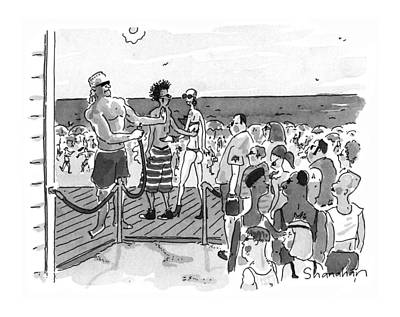 New Yorker July 15th, 1996 Art Print by Danny Shanahan