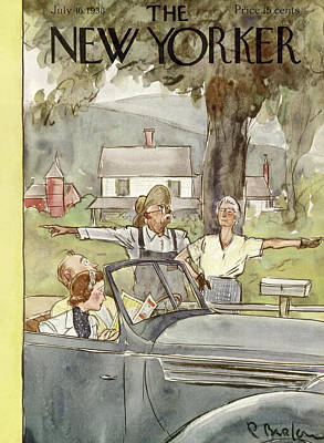 New Yorker July 16th, 1938 Art Print