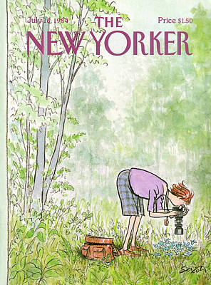 1984 Painting - New Yorker July 16th, 1984 by Charles Saxon